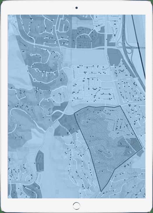 Davis-iPad-GIS Map